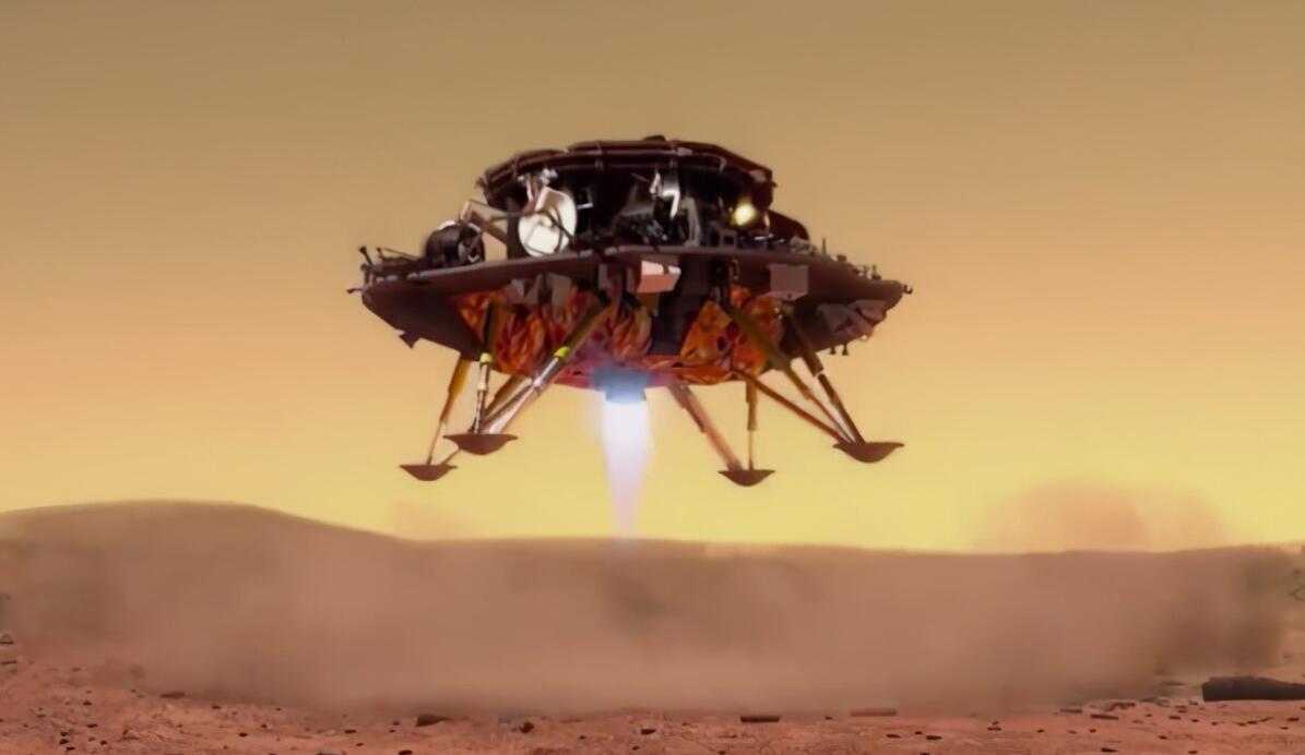 美国拍到祝融号火星车一幕,英专家大呼不可思议:居然是真的